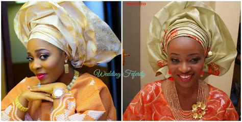 aso oke and lace attires for yoruba traditional weddings latest nigerians beads designs joy studio design gallery