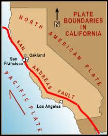 california tectonic plate map mr warren s geography