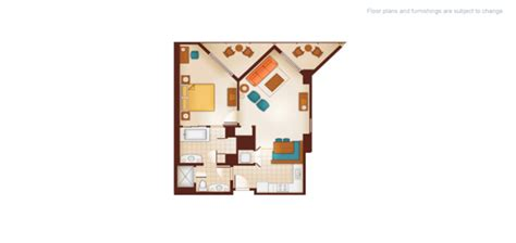 aulani 1 bedroom villa floor plan dvc aulani resort and spa resales point charts videos