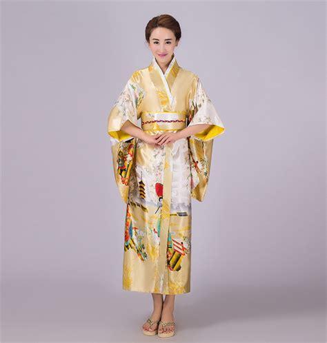 sale gold japanese vintage original tradition silk