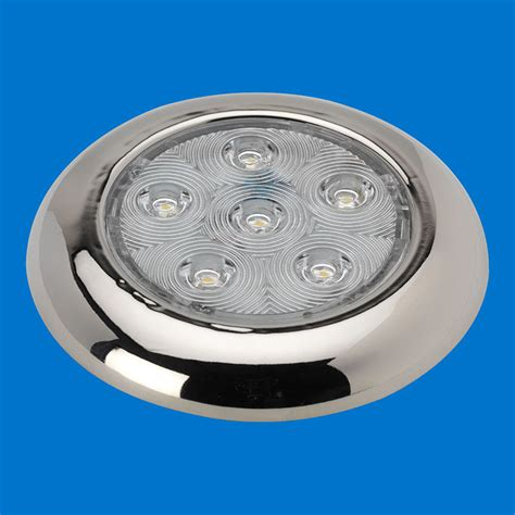 12v led puck lights 4 quot led puck light stainless without switch warm