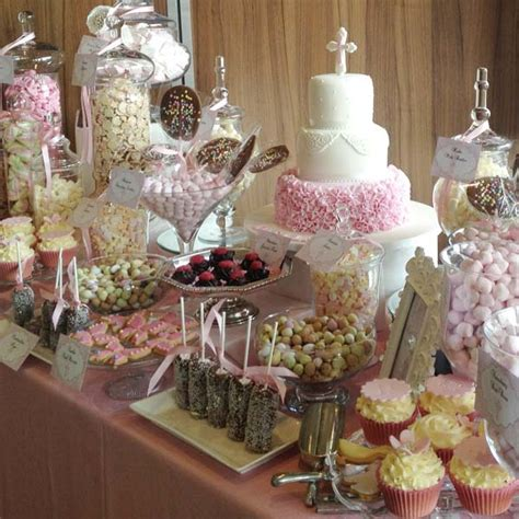 Dessert Table by Pink Dessert Table Buffets L Sweetie Tables L