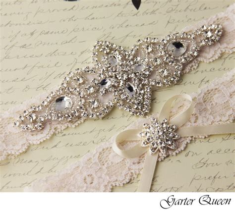 Wedding Garter Sets by Ivory Lace Bridal Garter Set Lace Wedding Garter