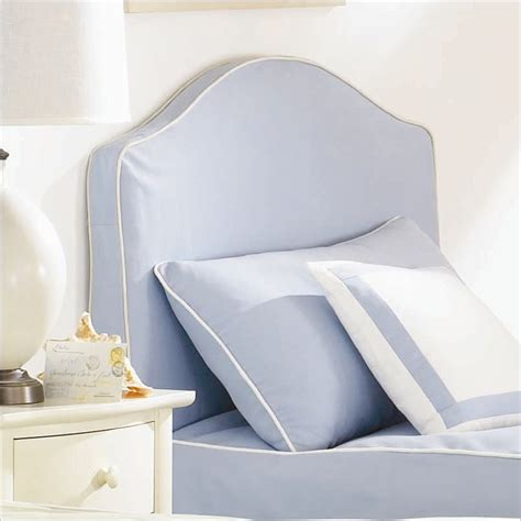 upholstered headboard slipcover lea seaside dreams upholstered panel headboard with slipcover