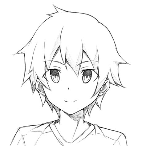 how to draw a boy anime drawing boy hair www imgkid the image kid