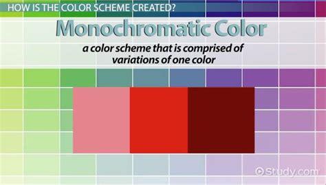 color schemes definition definition monochromatic color scheme easy home