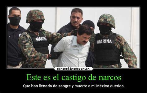 imagenes y frases de narcos este es el castigo de narcos desmotivaciones