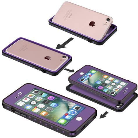 Iphone 7 7 Side Button Waterproof Rubber Ring impactstrong iphone 7 waterproof fingerprint id compatible slim protection for