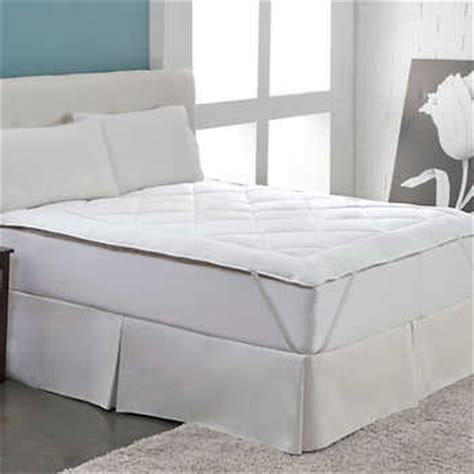wool comforter costco reversible wool cotton mattress topper