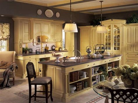 kitchen country kitchen cabinet decorating ideas