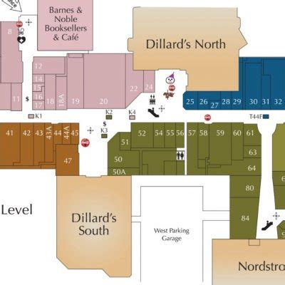 oak park mall map oak park mall 132 stores shopping in overland park kansas ks 66214 mallscenters