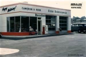 arm r lite glass gas station garage door essos station