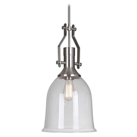 Brushed Nickel Pendant Lighting Jeremiah Lighting Brushed Nickel Pendant Light P565bnk1 Destination Lighting