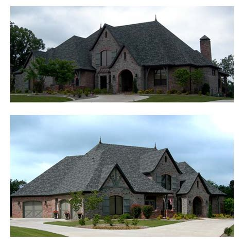french tudor house plan family home plans blog european french country tudor house plan 96885