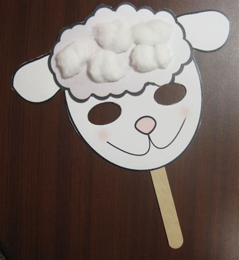cardboard sheep template free sheep crafts