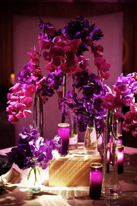 orchid bouquets and centerpieces arabia weddings