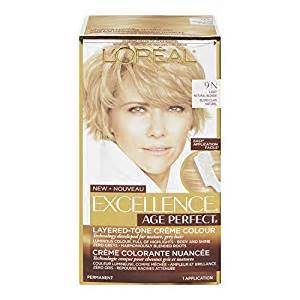 what hair colour age 61 l oreal paris hair color excellence age perfect layered