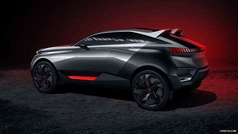 peugeot quartz side 2014 peugeot quartz concept side hd wallpaper 4