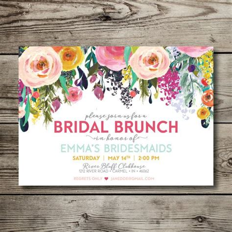 wedding lunch invitation sle 1000 ideas about printable invitations on