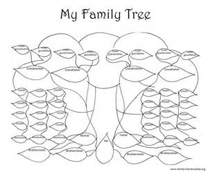 family tree template for pages family tree template resources