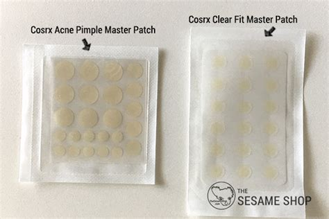 Cosrx Clear Fit Master Patch 18ea cosrx clear fit master patch vs acne pimple master patch review comparison the sesame shop
