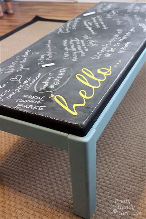 chalk paint espresso coffee tables chalkboards and coffee on