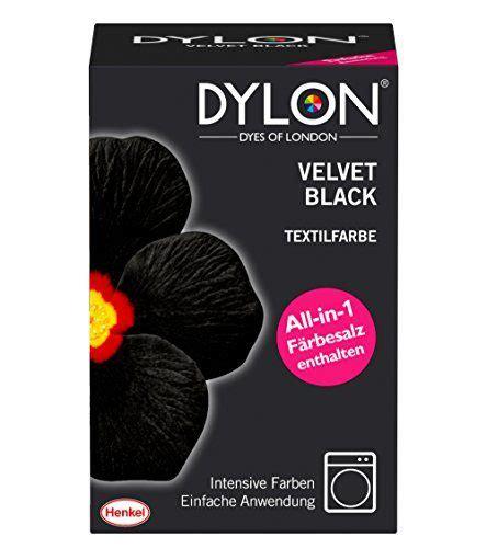 textilfarbe polyester dylon textilfarbe velvet black 1er pack 1 x 1 st 252 ck