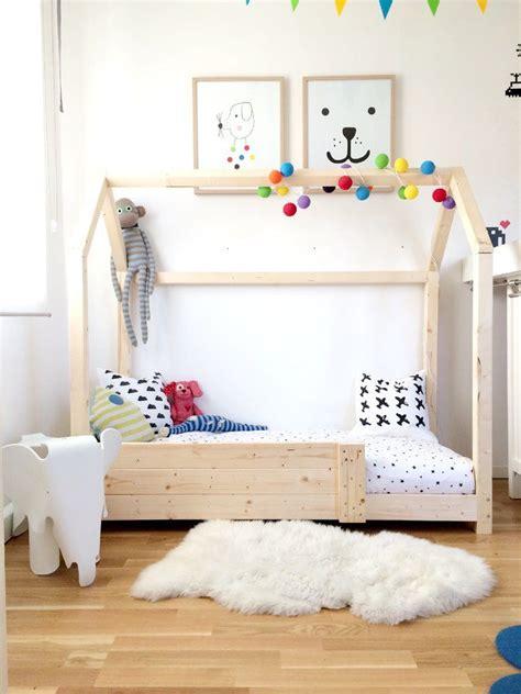 kinderbett haus montessori die besten 25 kinderbett haus ideen auf