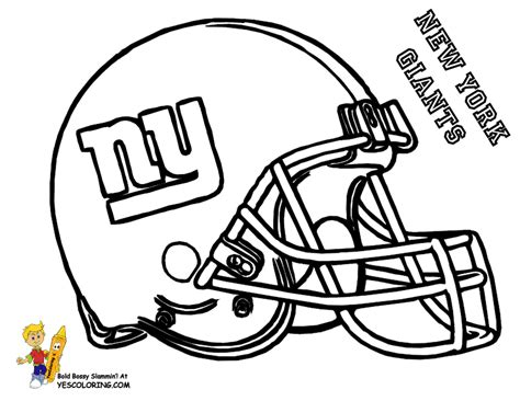 pro football helmet coloring page nfl football free