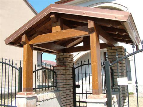 tettoie in legno per cancelli copri cancello coperture per cancelli su misura