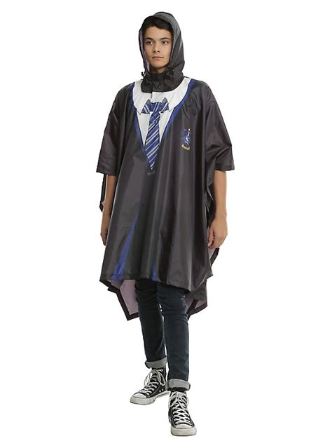harry potter house robes harry potter ravenclaw house robe poncho hot topic