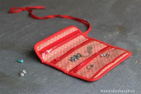 how to make a jewelry roll diy make a mini jewelry roll haberdashery