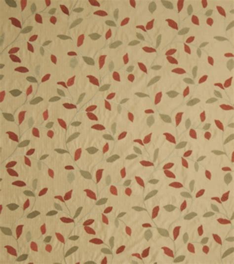 home decor print fabric eaton square troop coral floral