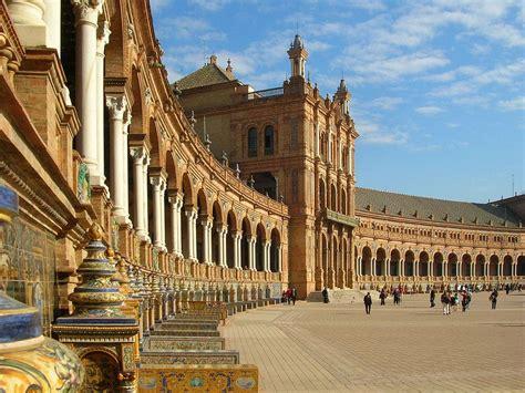 place despagne  seville monumentale plaza de espana