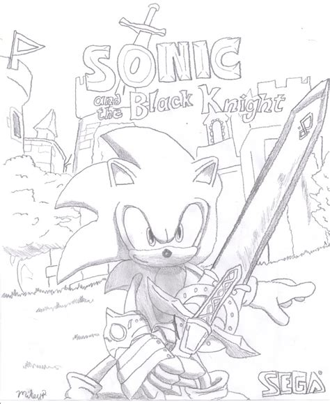knight coloring pages sonic and the black knight coloring