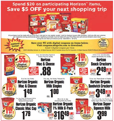 catalina offers for shoprite supermarkets living rich review ebooks confirmed horizon catalina at shoprite 0 13 snack