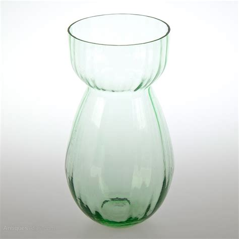 glass with olive antiques atlas retro olive green glass vase