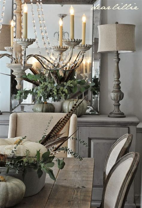 five rustic glam dining rooms snazzy things