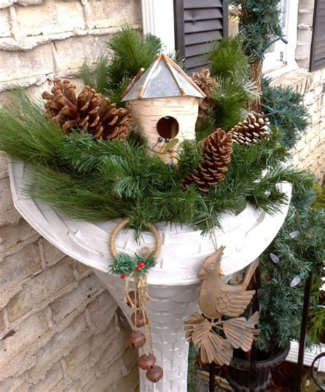 debbie dabble outdoor winter decor 2013 outdoor spaces