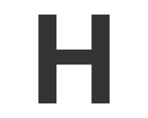 Buchstabe H by Aufkleber Buchstabe Quot H Quot Schwarz 30 Mm Bei Hornbach Kaufen