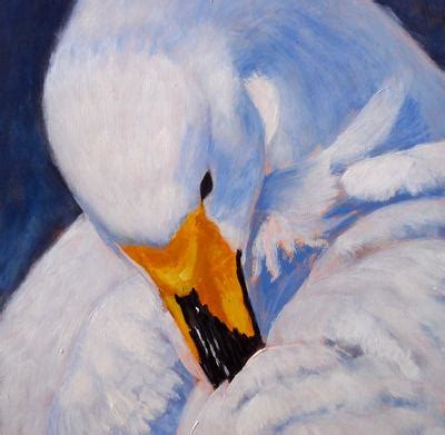 acrylic painting bird feathers birds of a feather