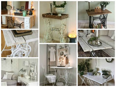 Vintage Decorations For Home by Vintage Decorations Ideas With Old Sewing Machines My
