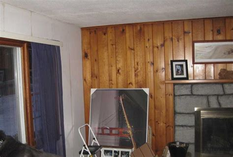 Paint To Match A Knotty Pine Wall The Home Depot Community