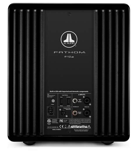 jl audio fathom   ideal av home cinema