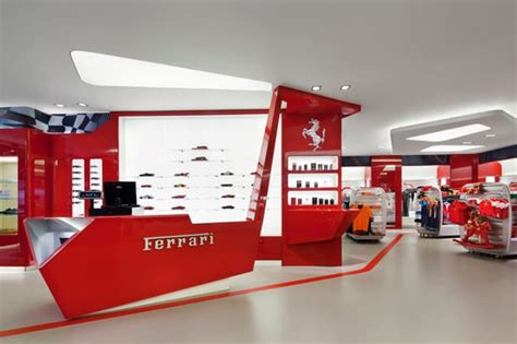 ferrari showroom ferrari store opens in new york