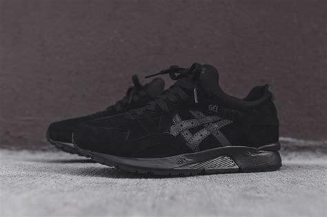 Asics Gel Lyte V Black asics gel lyte v black sneaker bar detroit