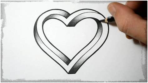 imagenes de corazones dibujados dibujos de corazones a lapiz faciles www pixshark com