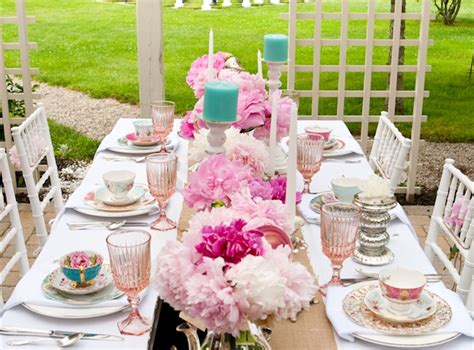 tea table setting creative ideas