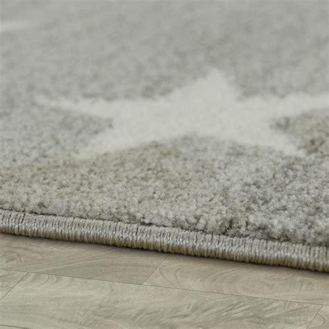 kinderzimmer teppich kurzflor kurzflor kinderteppich sterne grau kinder teppiche