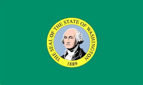 of washington colors flags of the fifty states washington